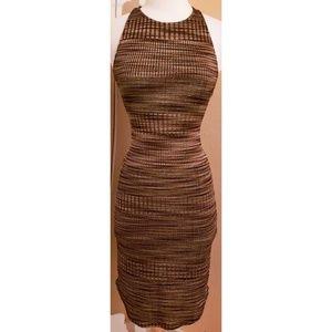 Urban Outfitters Body Con Racerback Midi Dress
